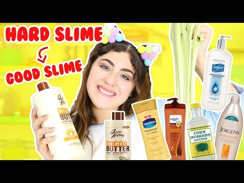 testing-different-lotions-for-hard-slimes- -slimeatory-#116