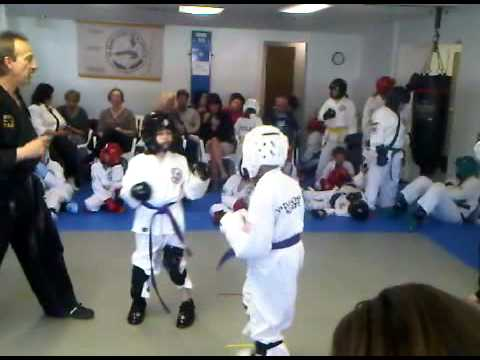 Dezmon Wins His Second Sparring Match
