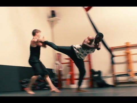 KINGSMAN inspired FIGHT SCENE!!