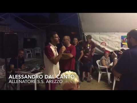 Cena amaranto: La Cava, Anselmi, Dal Canto e Cutolo parlano ai tifosi