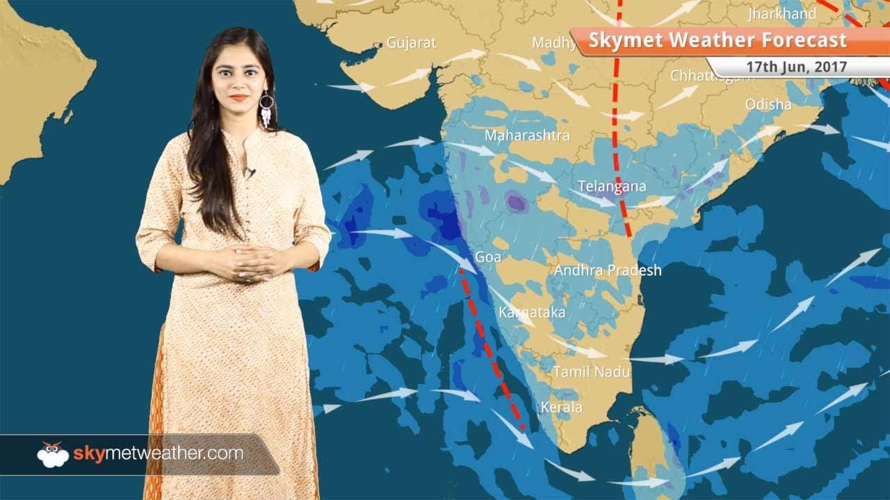 [Hindi] 17 जून का मौसम पूर्वानुमान: दिल्ली, पंजाब, हरियाणा, कोलकाता, बिहार  में बारिश