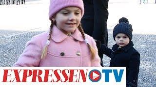 Estelle hjälper mamma kronprinsessan Victoria エステル王女 検索動画 4
