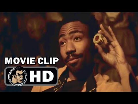 SOLO Movie Clip - Han Meets Lando (2018) Donald Glover, Alden Ehrenreich Star Wars Movie HD