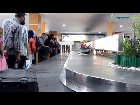 kedatangan, Bandar Udara Syamsudin Noor - Banjarmasin
