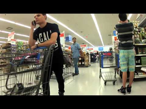 Public Prank - Taking People's Carts/Trolleys (Ft. OverboardHumor)