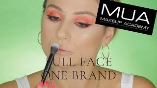 ONE BRAND MAKEUP TUTORIAL: MUA|| GIO DREVELI ||