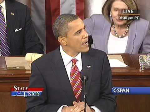 Pres. Obama's First State of the Union Address