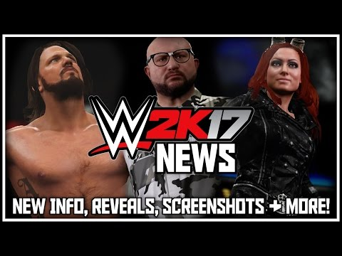 WWE 2K17 - NEW Gameplay Info, NEW Roster Reveals, NEW Screenshots & NEW Entrance Gameplay!