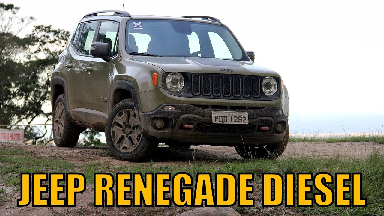 jeep renegade longitude 2 0 diesel 2016 primeiras impress es youtube. Black Bedroom Furniture Sets. Home Design Ideas