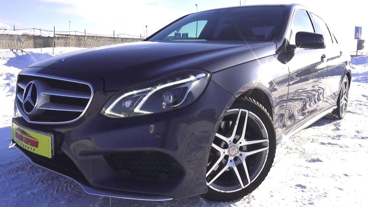 2013 Mercedes-Benz E300 4Matic. Обзор (интерьер, экстерьер, двигатель).