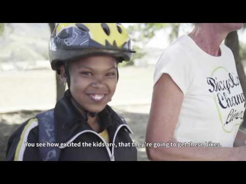 Qhubeka bike distribution ceremony with Dimension Data | Kylemore, South Africa
