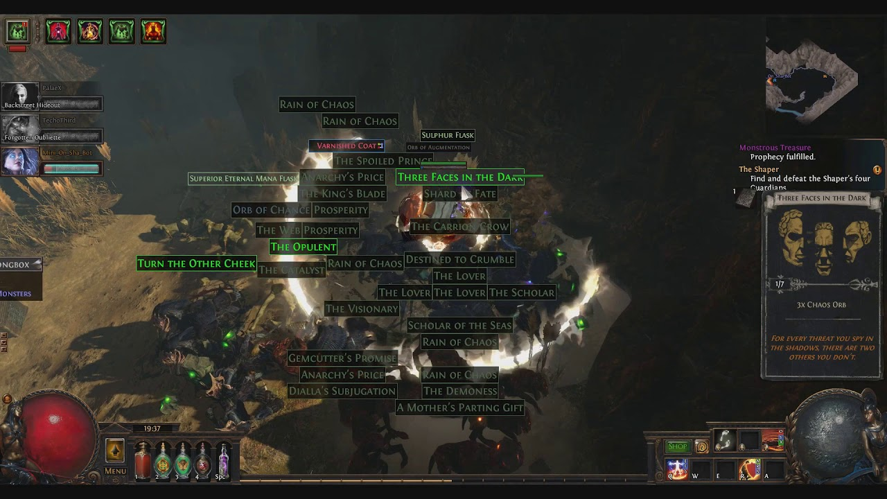 Path of Exile - PoE 3 Diviner's Strongbox !!!! - YouTube