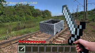 попали в МАЙНКРАФТ в реальной жизни!!!  Minecraft IRL Видео для детей Video For Kids Матвей Котофей