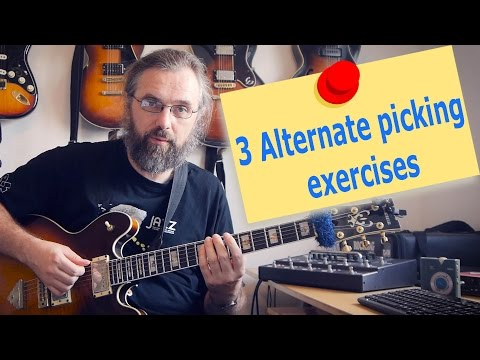 3 Great Alternate picking exercises to help you play fast