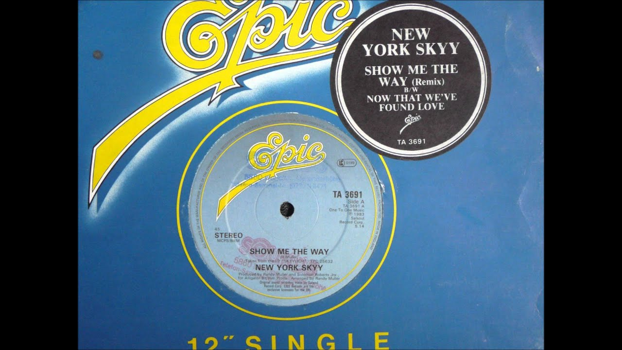 16da3571ad665 New York Skyy - Show Me The Way Original 12 inch Version 1983 - YouTube