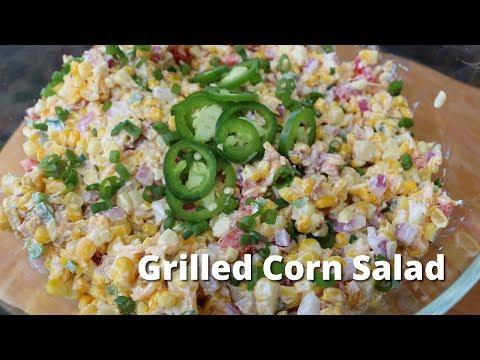 Grilled Corn Salad Recipe | Roasted Corn Salad on PK 360 Grill
