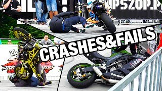 Stunt Crashes & Fails - Stunters Battle