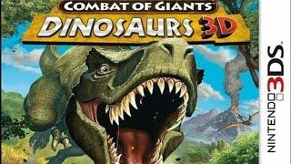 Combat of Giants Dinosaurs 3D Gameplay (Nintendo 3DS) [60 FPS] [1080p]