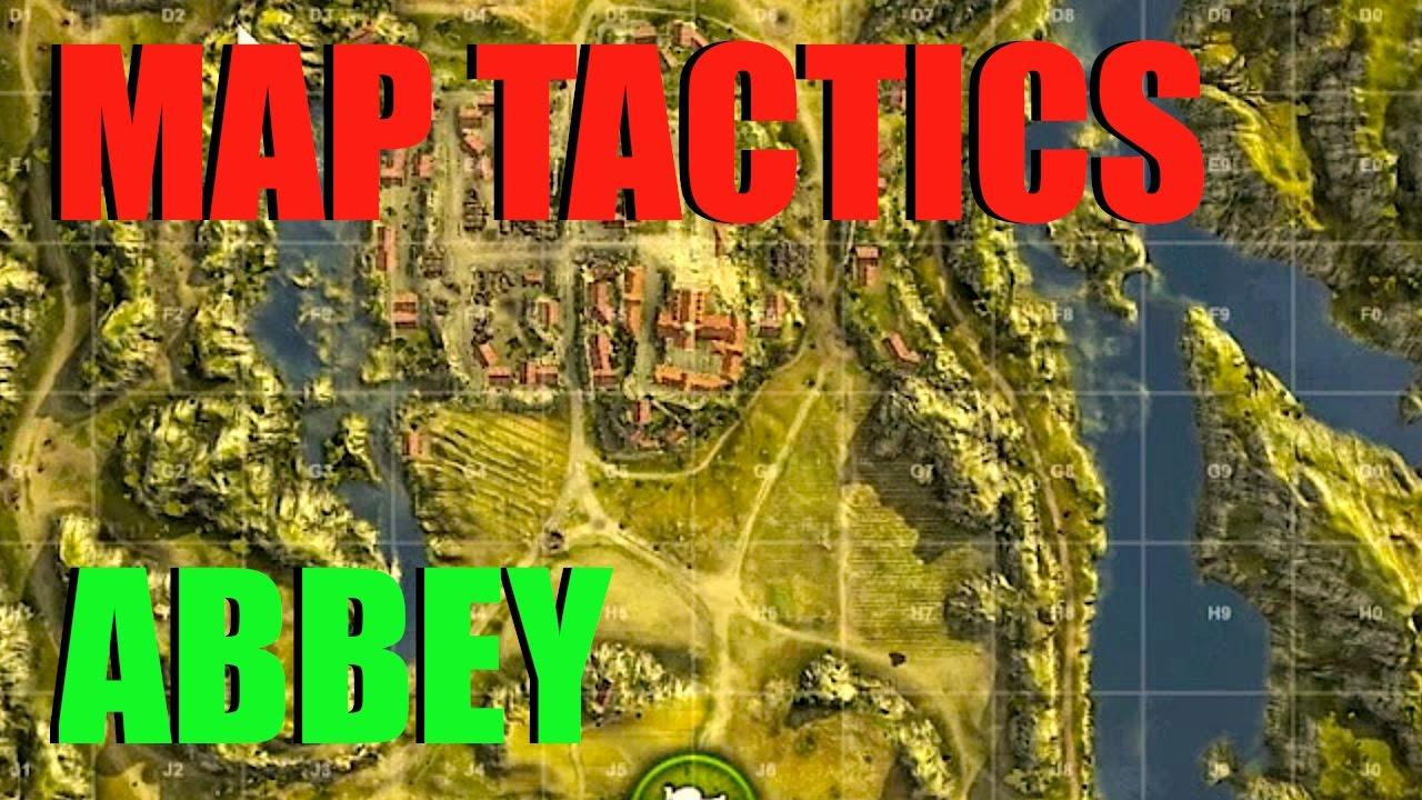 WOT - Map Tactics & Strategy Abbey | World of Tanks - YouTube