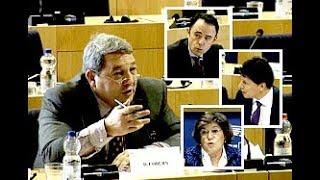 EU bureaucrats duck questions on 'Mountain of Hypocrisy' - David Coburn MEP