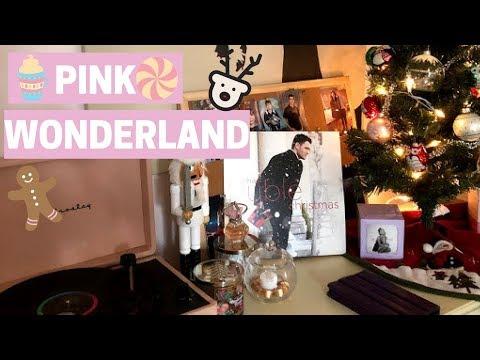 Pink Wonderland Room Tour 2017- Classy Christmas