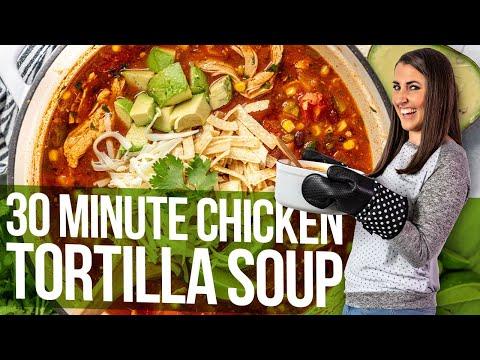 banders chicken salsa soup