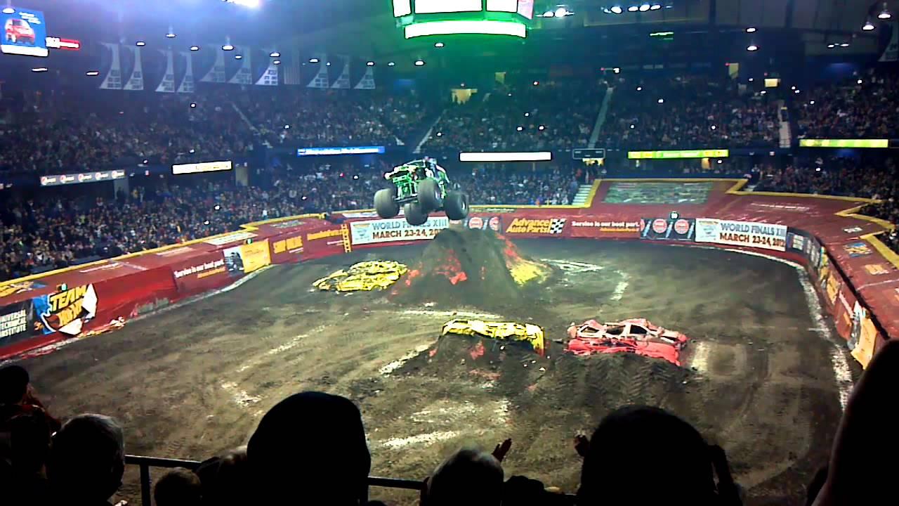 Allstate Sign In >> Monster Jam 2012 AllState Arena - Grave Digger - YouTube