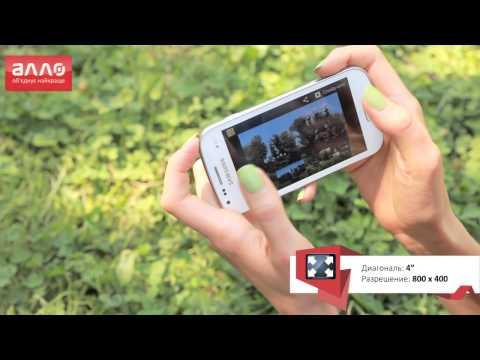 Видео-обзор смартфона Samsung Galaxy S Duos