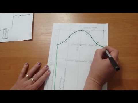 Как построить чертеж рукава