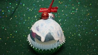 SUPER Simple Cupcake Ornament DIY Tutorial