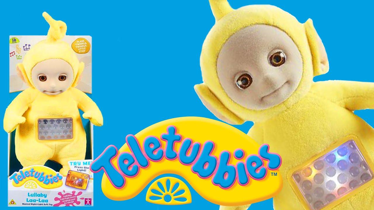 Laa Laa: Teletubbies: Lullaby Laa-Laa (Talking Soft Toy For Kids