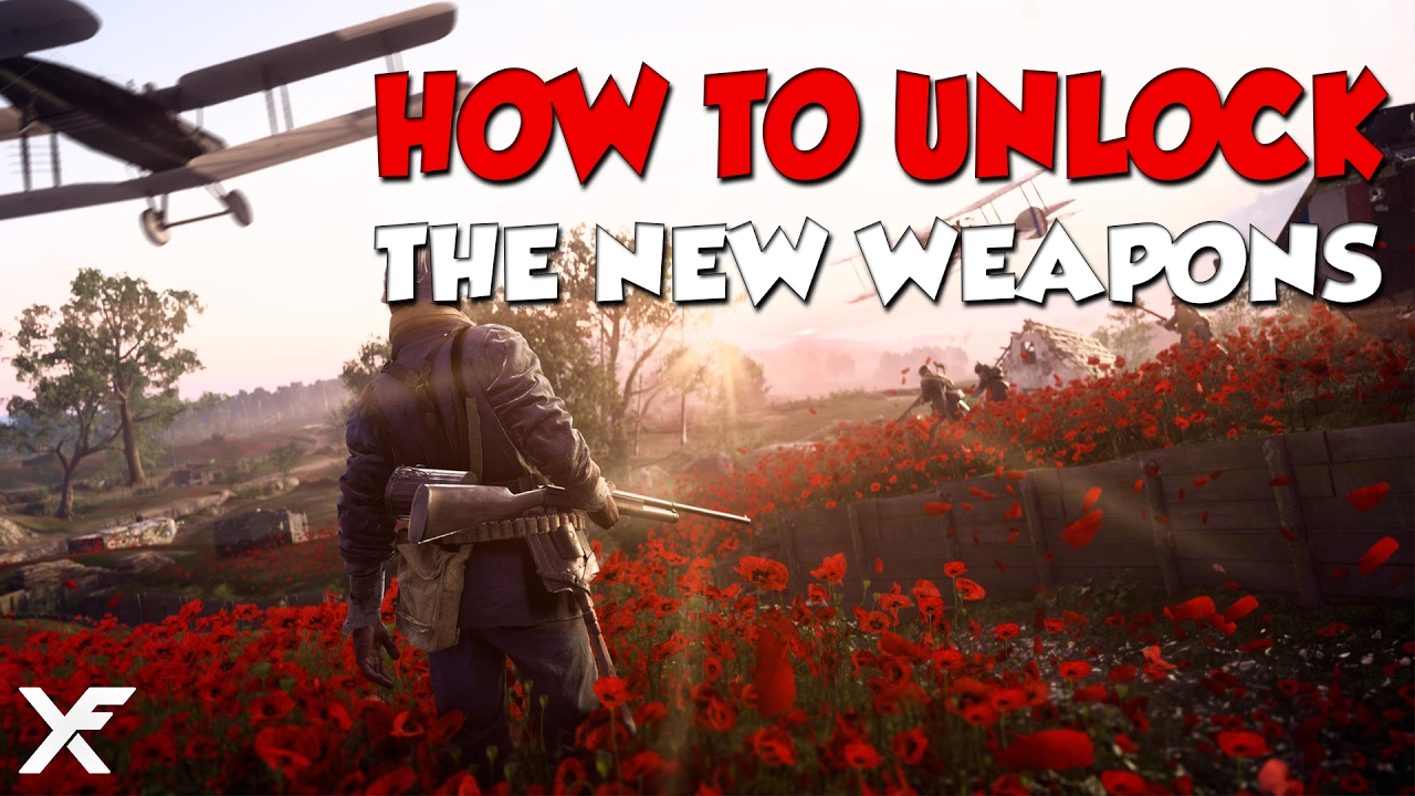 How to unlock the new weapons battlefield 1 they shall not pass how to unlock the new weapons battlefield 1 they shall not pass dlc youtube ccuart Images
