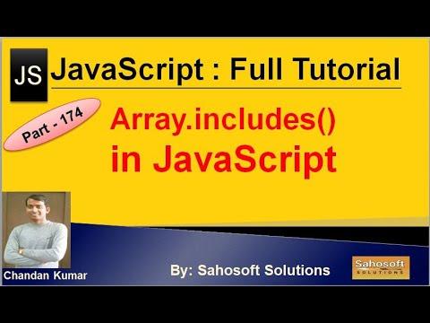 Array.includes() in JavaScript | JavaScript Full Tutorial in Hindi thumbnail