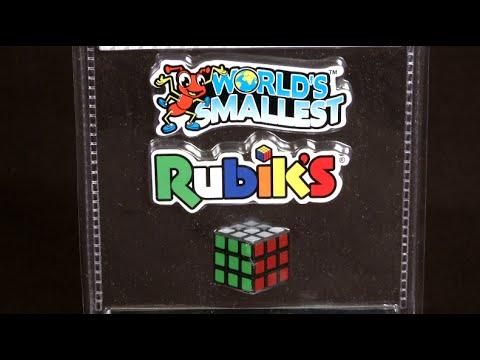 World's Smallest Rubik's Cube From Super Impulse