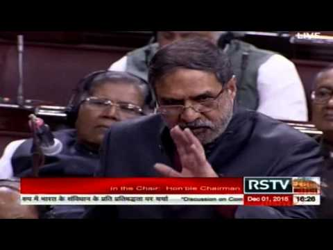 Anand Sharma speech in parliament, 1 Dec 2015