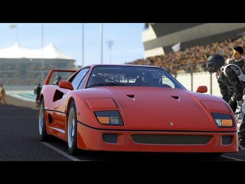 Forza Motorsport 5 - Ferrari F40 1987 - Test Drive Gameplay (HD) [1080p60FPS]