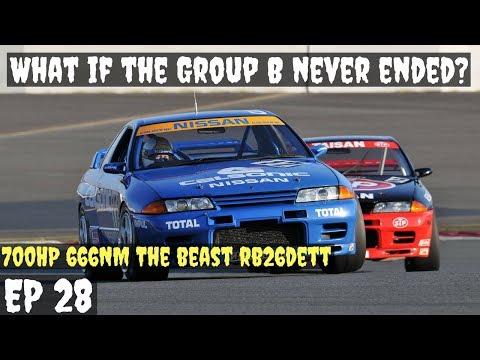 Group B Rally   666NM The Beast is here!!   Nissan Skyline R32 GTR   Forza Horizon 3 Gameplay