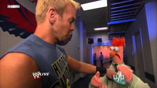 The Muppets on WWE Raw 10/31/2011