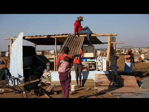 South African shanty-town demolition sparks riots