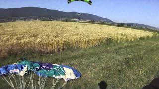 AFF Jump 1 Landing