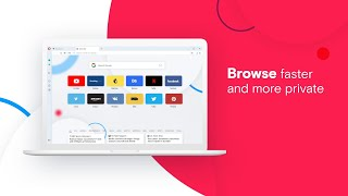 Opera browser is faster, more private and more fun! screenshot 2