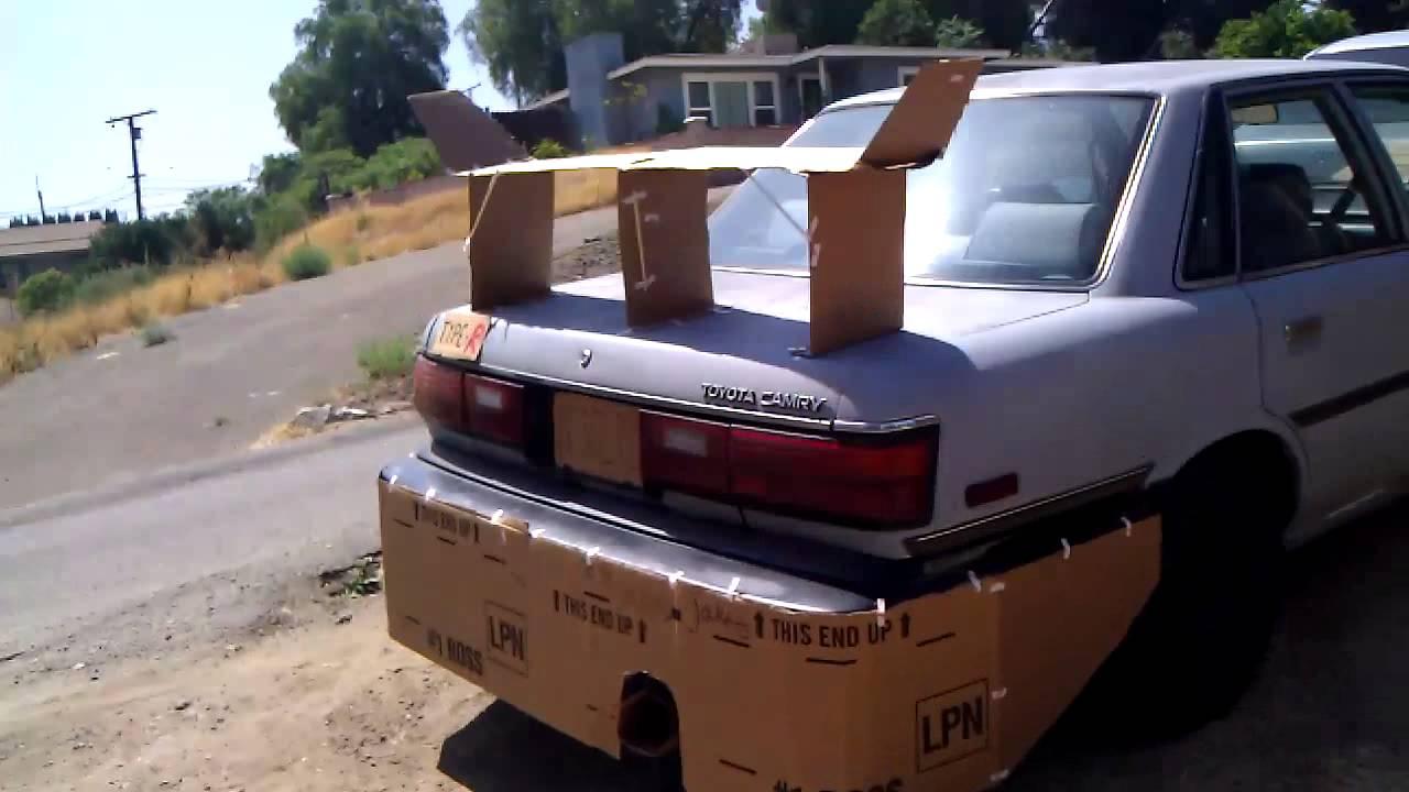 Cardboard Cars Drive In