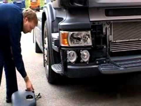 Stop Start Wiring Diagram Fujitsu Ac How To Change Scania Light Bulbs - Youtube