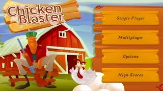 Chicken Blaster Wii Gameplay