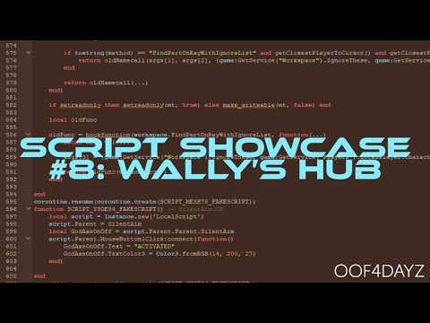 Script Showcase #8: Wally's Hub & my review of it