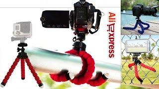 Гибкий мини штатив для камер GoPro, SJcam, Xiaomi  Посылка из Китая(Ссылка на мини штатив для GoPro - http://ali.pub/08fyc Рекомендую купить этот гибкий мини штати для экшн камеры. Он подхо..., 2016-08-19T14:09:01.000Z)