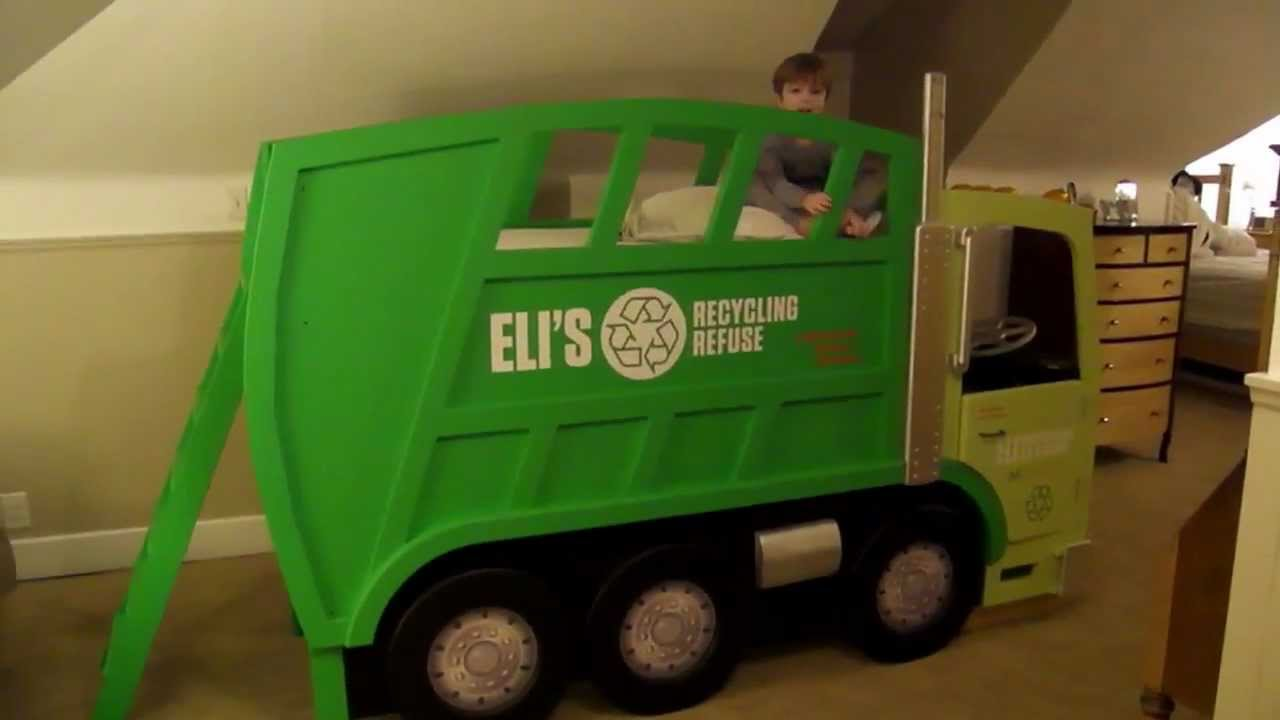 Elis Garbage Truck Bed
