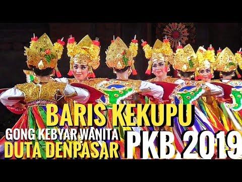 TARI BARIS KEKUPU - Gong Kebyar Wanita Duta Denpasar - PKB 2019