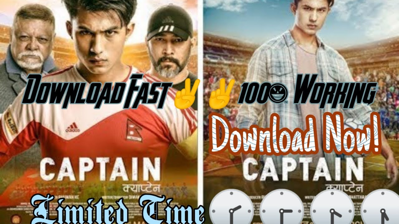 Download How to download Captain Nepali Movie Now!100%working✌✌✌✊✊😎