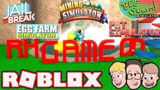 ROBLOX Pet Simulator + Jailbreak! Family Friendly Video Games & Gaming (Live Stream)